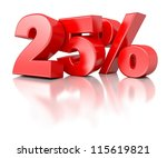 3d shiny red discount... | Shutterstock . vector #115619821