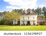 large white southern style... | Shutterstock . vector #1156198927