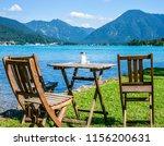 tegernsee lake in bavaria  ... | Shutterstock . vector #1156200631