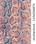 snake skin pattern texture... | Shutterstock . vector #1156206874