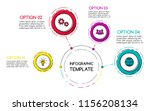colorful infographic template... | Shutterstock .eps vector #1156208134