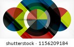 vector circle abstract... | Shutterstock .eps vector #1156209184