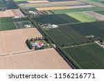 Aerial View Dutch Polder...