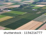 aerial view dutch polder... | Shutterstock . vector #1156216777