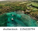 aerial view of honolua bay on... | Shutterstock . vector #1156220794