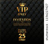 vip luxury invitation event.... | Shutterstock .eps vector #1156227427