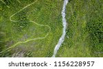 aerial shot of some road...   Shutterstock . vector #1156228957