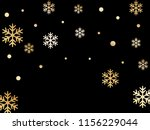 crystal snowflake and circle...   Shutterstock .eps vector #1156229044