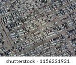 aerial view over huge outdoor...   Shutterstock . vector #1156231921