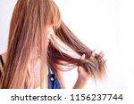 closeup portrait of female...   Shutterstock . vector #1156237744