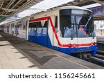 bts mo chit sky train station... | Shutterstock . vector #1156245661