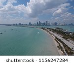 downtown miami from key... | Shutterstock . vector #1156247284