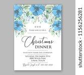 floral vector background for...   Shutterstock .eps vector #1156256281