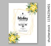 floral vector background for...   Shutterstock .eps vector #1156256401