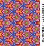 bright geometric pattern in... | Shutterstock . vector #1156258681