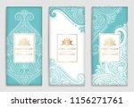 luxury packaging design of... | Shutterstock .eps vector #1156271761