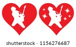 vector image. heart and... | Shutterstock .eps vector #1156276687