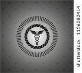 caduceus medical icon inside...   Shutterstock .eps vector #1156282414