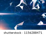 abstract geometric background... | Shutterstock . vector #1156288471