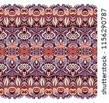 abstract ethnic nature tile... | Shutterstock .eps vector #1156290787