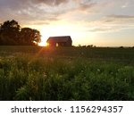 old abandoned barn in tall... | Shutterstock . vector #1156294357