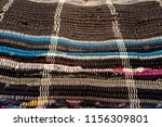 close up of floor rug made out...   Shutterstock . vector #1156309801