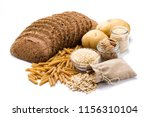 group of whole foods  complex... | Shutterstock . vector #1156310104