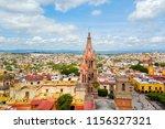 san miguel de allende aerial... | Shutterstock . vector #1156327321
