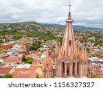 san miguel de allende aerial... | Shutterstock . vector #1156327327