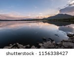 beautiful sky before sunrise in ... | Shutterstock . vector #1156338427