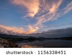 beautiful sky before sunrise in ... | Shutterstock . vector #1156338451