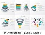 isometric infographic design... | Shutterstock .eps vector #1156342057