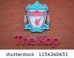 liverpool  uk   may 17 2018 ... | Shutterstock . vector #1156360651