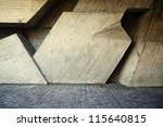 abstract geometric background...   Shutterstock . vector #115640815
