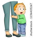 illustration of a kid boy... | Shutterstock .eps vector #1156435267