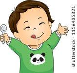 illustration of a kid boy... | Shutterstock .eps vector #1156435321