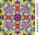 geometric background in origami ... | Shutterstock . vector #1156443751