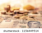singapore dollar banknote with... | Shutterstock . vector #1156449514