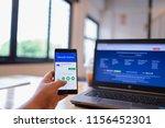 chiang mai  thailand   june 03... | Shutterstock . vector #1156452301