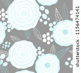 vector seamless pattern with ...   Shutterstock .eps vector #1156474141