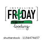 friday loading concept   vector ...   Shutterstock .eps vector #1156474657