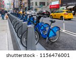 new york  usa   may 13  2018 ... | Shutterstock . vector #1156476001
