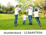 asian family having fun in the...   Shutterstock . vector #1156497934