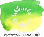 handpaint watercolor vector... | Shutterstock .eps vector #1156502884