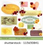 calligraphic vector | Shutterstock .eps vector #115650841