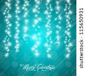vector christmas background... | Shutterstock .eps vector #115650931