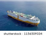aerial image of a large roro ... | Shutterstock . vector #1156509334