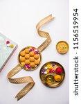 raksha bandhan festival  ... | Shutterstock . vector #1156519954