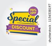 super sale  mega sale  sale... | Shutterstock .eps vector #1156538197