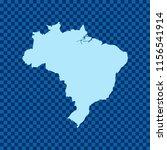 map of brazil   Shutterstock .eps vector #1156541914